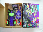 Transformers G1 Action Master Megatron Neutro Fusion Tank in box with booklet