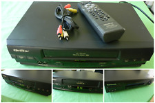 New listing Quasar Vhq-40M Vhs Vcr 4 Head Player with Remote Control Cables Instructions