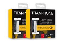 2xTITANPHONE  Displayschutz flüssig Handy Tablet Kamera Panzerglas 9H Nano