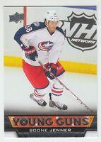 (66716) 2013-14 UPPER DECK BOONE JENNER #225 YOUNG GUNS ROOKIE CARD