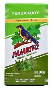 Pajarito Yerba Mate Tea - Produced in Paraguay