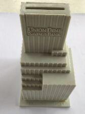 Vintage Union Dime Saving Bank Plastic Building NYC 6th & 40/41st.