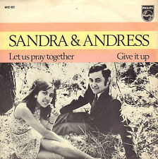 "SANDRA & ANDRES ‎– Let Us Pray Together (1970 NEDERPOP VINYL SINGLE 7"")"