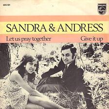 """SANDRA & ANDRES – Let Us Pray Together (1970 NEDERPOP VINYL SINGLE 7"""")"""
