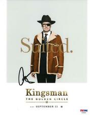 Colin Firth Signed Kingsman Authentic Autographed 8x10 Photo PSA/DNA #AE94534