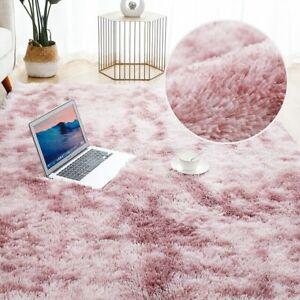 Soft Mat Thick Carpet Living Room Plush Bed Room Fluffy Floor Home Decor Rug