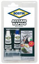 """Colla adesivo epossidico per metalli forte presa BOSTIK """"Acciaio Rapido"""" 30 ml."""