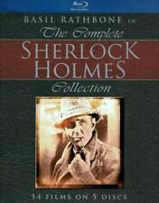 THE COMPLETE SHERLOCK HOLMES COLLECTION NEW BLU-RAY