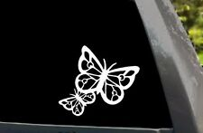 Butterfly Silhouette Car Truck Window Laptop Die Cut Vinyl Decal Sticker 001