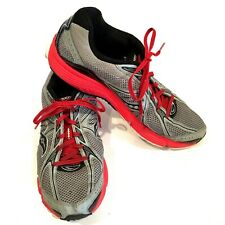 Saucony Mens Running Shoes Size 10.5 Ignition 4 Grid Red Gray Sneakers 25169-1