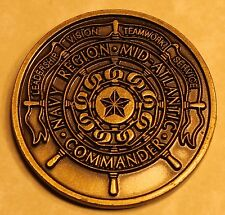 Navy Region Mid-Atlantic Commander Navy Challenge Coin