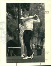 1984 Press Photo OSU golfer Scott Verplank on course - hps00070