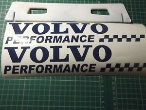 VOLVO SPORT  CAR STICKERS DECAL