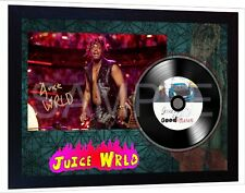 Juice WRLD Goodbye & Good Riddance SIGNED FRAMED PHOTO PRINT & Mini LP