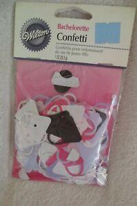 Wilton Bachelorette Confetti 1oz Purse Shaped Deco New