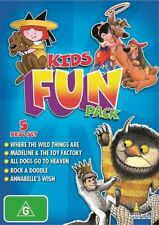 Kids Fun Pack - Annabelle's Wish / Rock A Doodle / All Dogs Go To Heaven /...