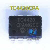5PCS TC4420CPA TC4420 ORIGINAL 6A High-Speed MOSFET Drivers new