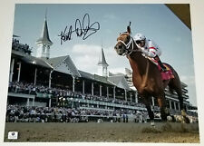 KENT DESORMEAUX Signed 11x14 BIG BROWN Photo 2008 Kentucky Derby Winner w/Spires