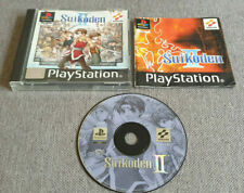 Sony Playstation 1 ps1 Spiel Suikoden II 2 Boxed mit Handbuch