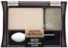 Maybelline Expertwear Eye Shadow DUO - Modern Metallics - Sunkissed Olive 90D