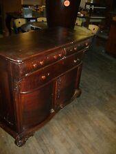 Antique 1900'S Era Buffet Side Board Serving Table / Dresser