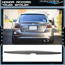 Fits 08-12 Honda Accord OE Factory Trunk Spoiler Painted Polished Metal Metallic