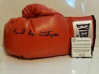 """Terrible"" Tim Witherspoon Signed Everlast Boxing Glove Schwartz Sports COA"