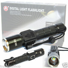 TORCIA LAMPADA LED RICARICABILE 7 LED CREE 6+1 288000 LUMEN 188000W  USB 528