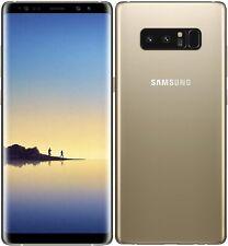 Samsung Galaxy Note 8 SM-N950 4G Smartphone 64GB Unlocked Gold (No Pen Clip) A