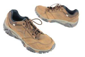 Merrell Moab Adventure Hiking Trail Shoes Men's Sz 11.5 - Dark Earth - Fast Ship