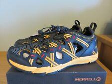 Merrell Boys Choprock Sandal - Black/Orange - Size UK 11, EUR 30 - NEW - RRP £45