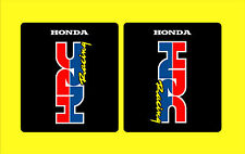 HONDA CR 125 250 500 HRC RACING FORK TUBE STICKERS GRAPHICS