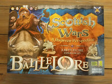 Battlelore Scottish Wars Expansion Open and Complete Days of Wonder