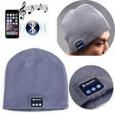 Smart Keep Warm Music Beanie Hat with Builtin Wireless Bluetooth Headphones BG