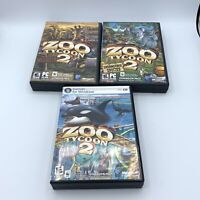 Zoo Tycoon 2 PC Expansion Lot: Endangered Species Marine Mania African Adventure
