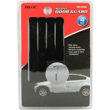 Pilot Automotive Universal 4 Pieces Black High Gloss Car Door Guard - MD-052E