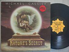 DISCO LP - MICHAEL CASSIDY - NATURE'S SECRET - ISKCON RECORDS GLR-1 - EX-/VG+