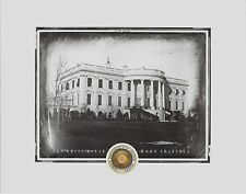 "The WHITE HOUSE.......actual WOOD SHAVINGS, President, Washington D.C, 8"" x 10"""