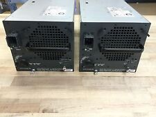 LOT OF QTY-2 Cisco Systems WS-CAC-3000W 3000W AC Power Supply Catalyst 6500