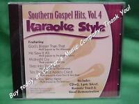 Southern Gospel Volume #4  Christian  Daywind  Karaoke Style  CD+G  Karaoke  NEW