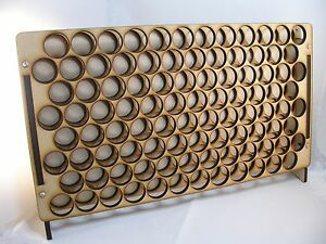 Sphere Products - Vertical Paint Rack for Vallejo, Scale 75, Andrea type paints.