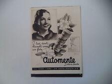 advertising Pubblicità 1942 AUTOMENTE VIBOR - ROMA