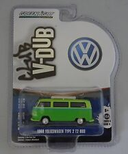 GREENLIGHT 1:64  1968 VOLKSWAGEN TYPE 2 T2 BUS  V-DUB