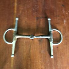 "Full Check Snaffle Bit  5"" Wide Copper Jointed in great condition"