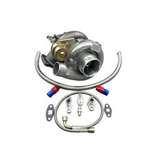 T61 Turbo Charger W/ Oil Kit For Toyota 86-92 Supra MK3 MK 3 7MGTE Upgrade CT26
