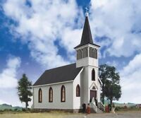 WALTHERS CORNERSTONE HO SCALE 1/87 COTTAGE GROVE CHURCH | BN | 933-3655
