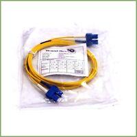 Brand-Rex 2m sc sc duplex patchcord - new & warranty