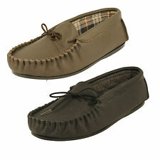Men's Draper Moccasin Slippers - Michael