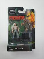 Mega Construx Predator Dutch Wave 2 Figure Black Series 21 pc Bow Arrow NEW