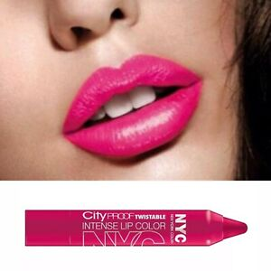 NYC Fuchsia Bubblegum Pink Lipstick Chubby Crayon Pencil Ballroom 041